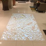 Holographic Fish Tank - Lobby Floor
