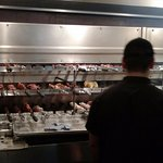 Skewers of wonderful meats. One of the first thing you see when you walk into the restaurant.