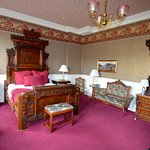 Our deluxe king room. Wonderful!