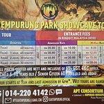 Gua Tempurung Park Showcave Tour