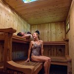 A view of our traditional sauna