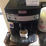ロビーのセルフコーヒー