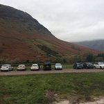 Scarfell pike carpark at 7am on a Sunday....getting busy
