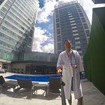 Pool time selfies@Ascott Makati