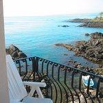 balcony on sea