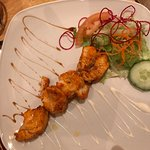 Monkfish Tikka & Naga Chicken