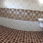 Panoramic image of washroom