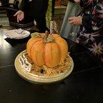 pumpkin Devil's chocolate cake
