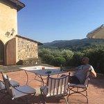 Our own private Villa patio