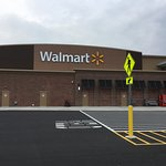 Bay Towne Plaza - view of new WalMart store
