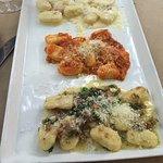 Gnocchi 3 ways