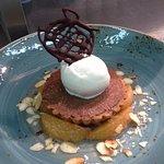 Chocolate & Almond Tart