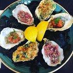 Half a dozen Oysters done 3 ways