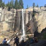 In Yosemite with my daughter Lara near Tenaya Lodge