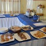 (Part of) breakfast buffet