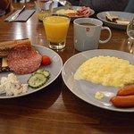 Klaus K's breakfast (from buffet).