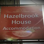 Hazelbrook B&B sign