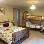 We had a choice of rooms so we chose this one it was lovely warm clean and spacious