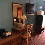In Room Micr-Frig, Coffee, Hair Dryer, Direct-TV, etc