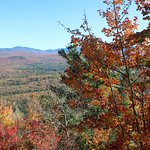 View from Summit in fall