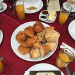 Starter of the Complimentary Breakfast