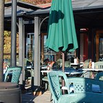 Eat on the patio if the weather is cooperating.