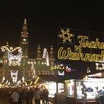 Rathausplatz Weihnachtszeit