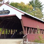 one of the covered bridges nearby