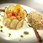 Tartare de saumon et céréale gourmand La cochonne.... #CHEF