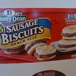 Sausage biscuits for a hot breakfast or hot snack
