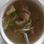 GF bamboo fungus soup vegetarian