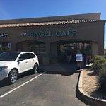 Front of DJ's Bagel Cafe