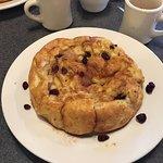 Oven Baked Cranberry Orange Pancake