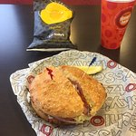Had not eaten Schlotzskys in many years.Poor service and very expensive.. Won't be back