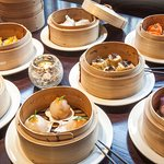 Once upon a time, two customers ordered 20 dim sum plates between them, will you break the recor