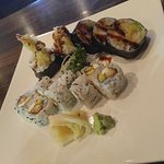 Scallop and Shrimp Roll
