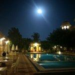 On a moonlit night