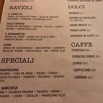 Here You ate The menu,you can ser The prices, The best italian food. Para los que pedían precios