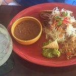 Seafood Tacos and Tacos Dorados.