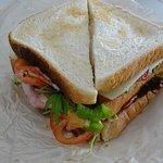 Garlic Kiss sandwich