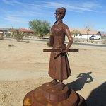 Teacher Statue, Old Schoolhouse Museum, Twentynine Palms, CA