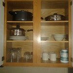 Stocked kitchenette (rm 222)
