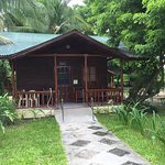 PWD-friendly poolside cottage.