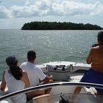 la vue du bateau qui peux accueillir 12 passagers ce jour la nous étions 6