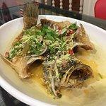 Deep Fried Fish with Garlic Sauce