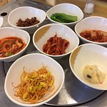 Banchan! Love the side dishes!