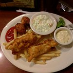Fish and chips - excellent!