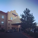 A beautiful morning at the Springhill Suites Prescott