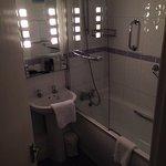 well equipped en-suite bathroom