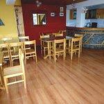 Salón Mirador para el Servicio del Desayuno (Se puede apreciar la ciudad de Puno y el Lago Titik
